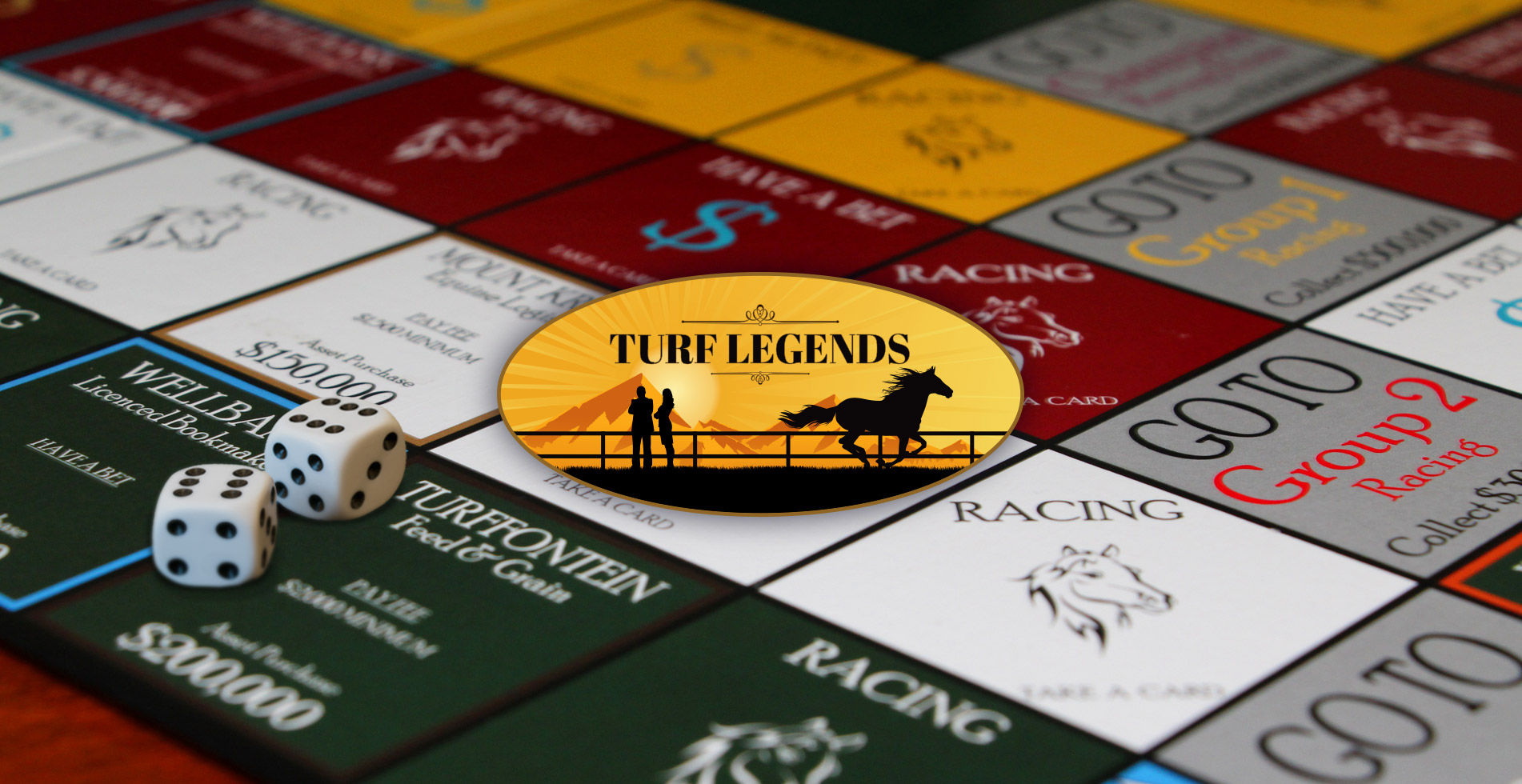 Turf Legends Board Game