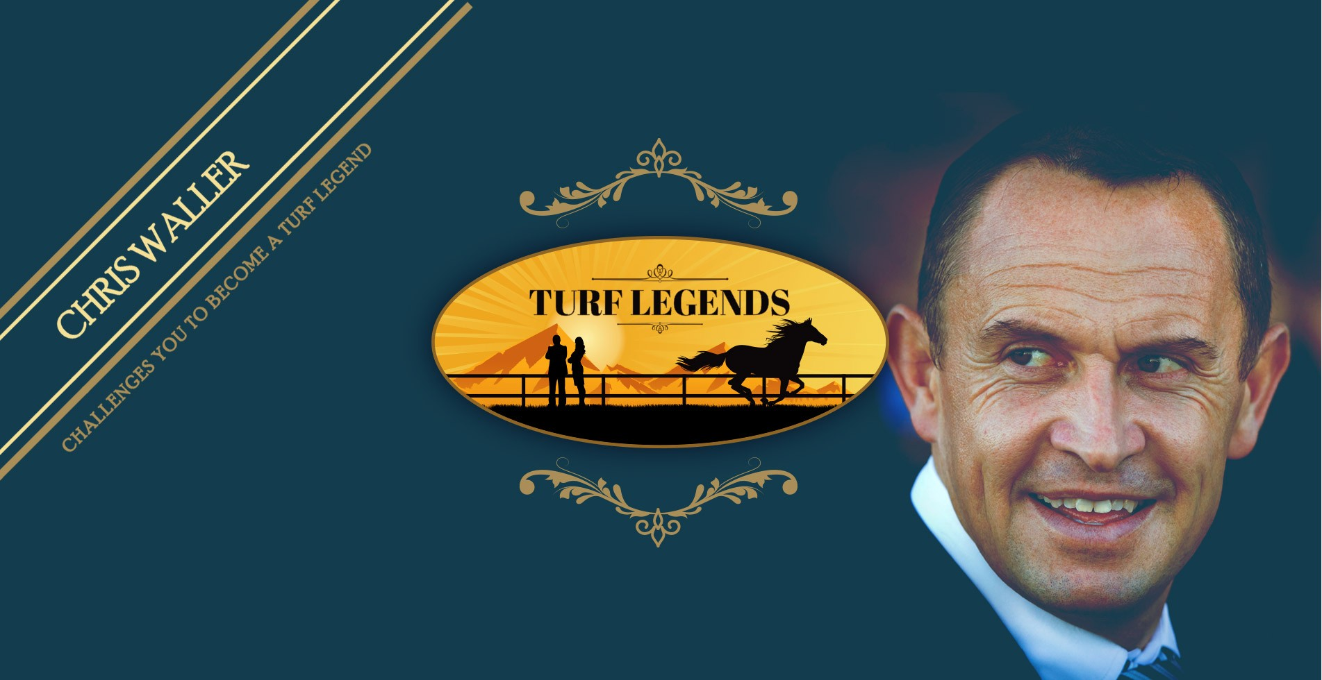 Chris Waller Challenges you to become a Turf Legend